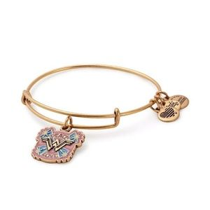 Alex + Ani Wonder Woman Peace & Love bracelet
